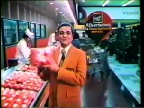 Albertson's supermarket commercial from 1975