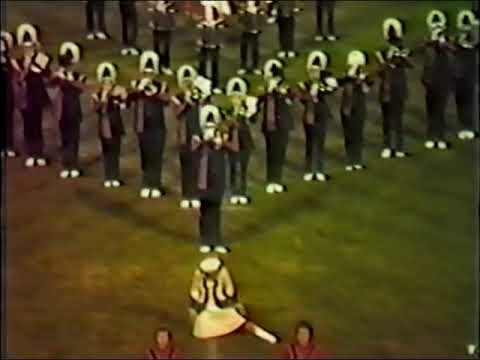 Mount Pleasant Area High School Marching Band 1983-84