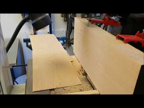 Little Ripper veneer cutting contest video on the bandsaw