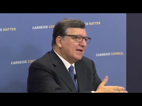 José Manuel Barroso: Europe's Progressive Response to the Financial Crisis
