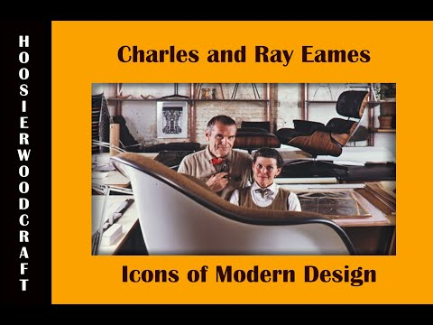 Charles And Ray Eames - Postwar Furniture Designers