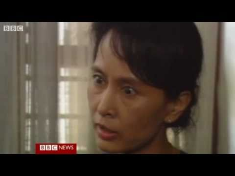 Aung San Suu Kyi- BBC video footage