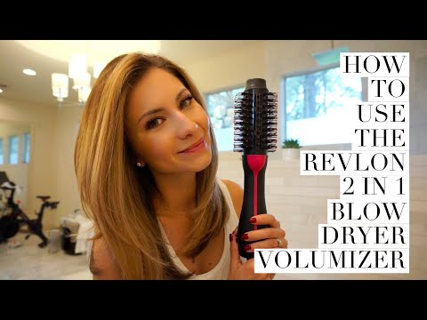 Hair Tutorial | How to Use Revlon 2 in 1 Blow Dryer Volumizer