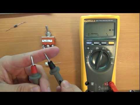 How to use a Multimeter for beginners: Part 3 - Resistance and Continuity