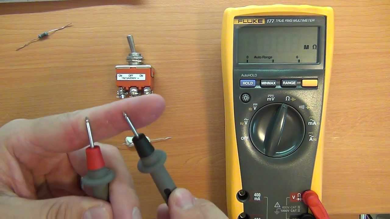 How To Use A Multimeter For Beginners Part 3 Resistance And Connect Simple Circuit With Voltmeter Ammeter As Shown Continuity Youtube