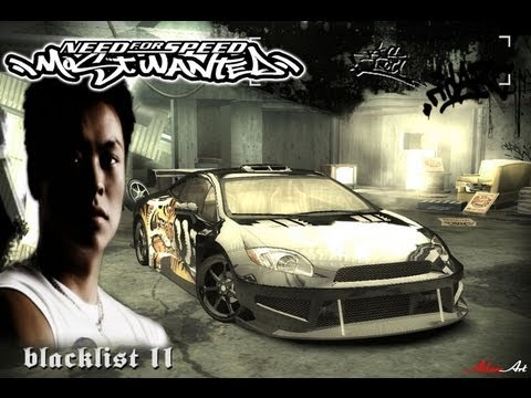 Nfs Most Wanted Blacklist 11 Big Lou Hd Pc Youtube