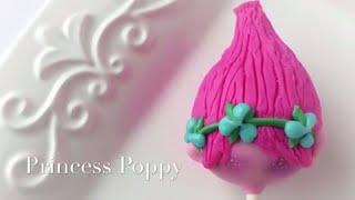 How to make a Princess Poppy cake pop