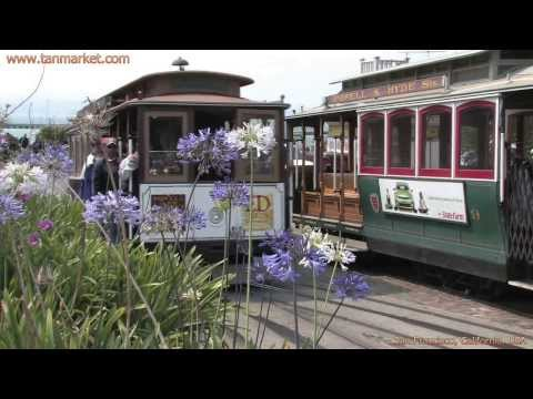 Cable Car, San Francisco, California, USA Collage Video - youtube.com/tanvideo11