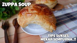 CARA MEMBUAT ZUPPA SOUP  Tips agar MENGEMBANG SEMPURNA..!!