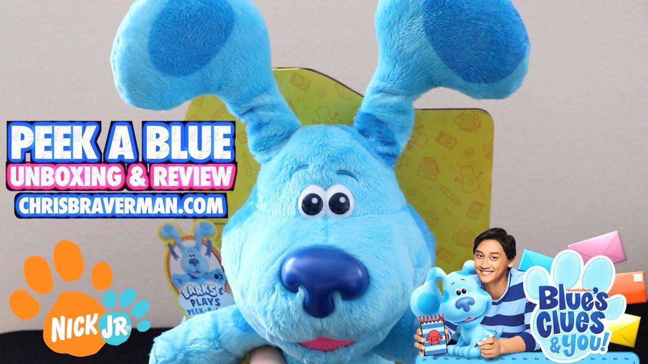 Blues Clues Peek-a-Blue Plush Blue