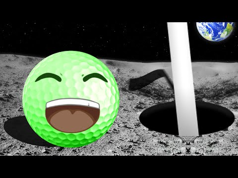 GOLF ON THE MOON! (Golf With Your Friends)
