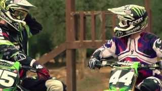 Thor MX Verge Helmet feat Pro Circuit Team on BikeBandit.com