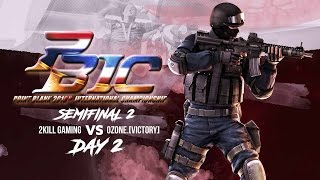 2kill gaming vs ozone victory pbic 2016 day 2