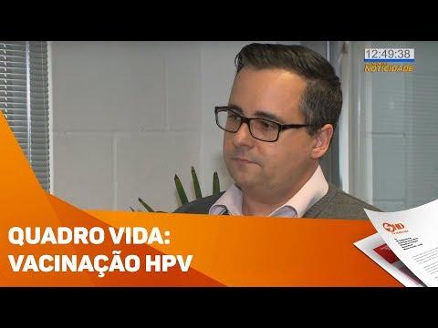 Quadro Vida: Vacinação contra o HPV - TV SOROCABA/SBT