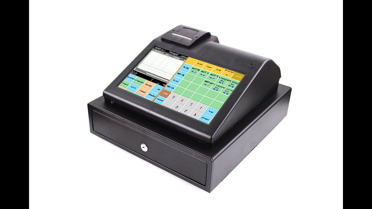 11 inch touch screen Electronic Cash Register ECR IPCR004S with FREE POS  software