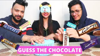 GUESS the CHOCOLATE Challenge 🍫 ft. Triggered Insaan