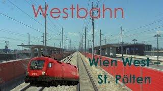 Führerstandsmitfahrt RAILJET - Westbahn Wien - St. Pölten mit 230km/h - High Speed Train Cab Ride