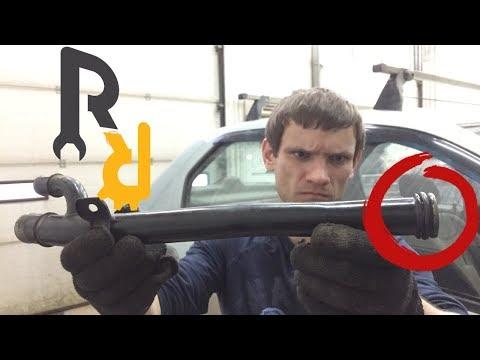 Течь антифриза. Прокладка патрубка помпы замена. Рено K7J, K7M. | Видеолекция#2