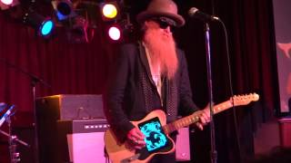 Moving Sidewalks featuring Billy Gibbons - On The Green - BB Kings NYC - 3-30-13