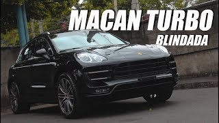 Porsche Macan Turbo - Blindado Nível III-A by Leandrini