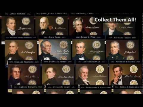 Two-Coin Presidential Dollar Collections