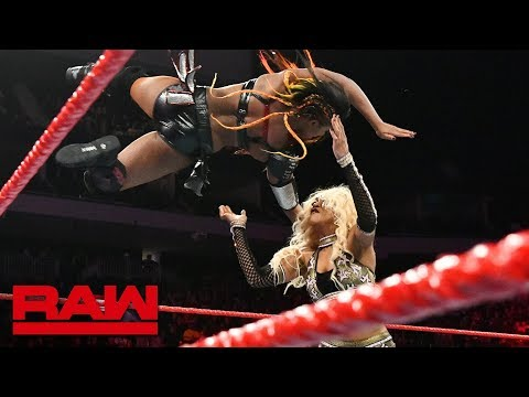 Ember Moon vs. Alicia Fox: Raw, Nov. 26, 2018