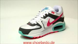 competitive price cde01 442fb Nike Sneaker WMNS Air Max Command White Pink Flash-Cool Grey