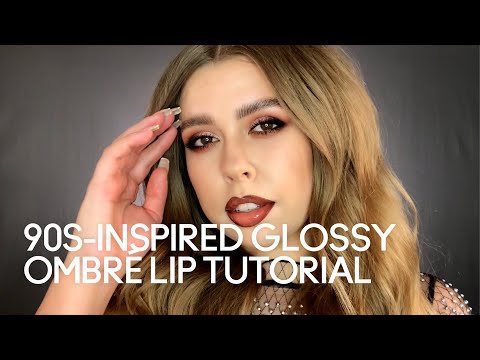 90s-Inspired Glossy Ombré Lip Tutorial | MAC Cosmetics