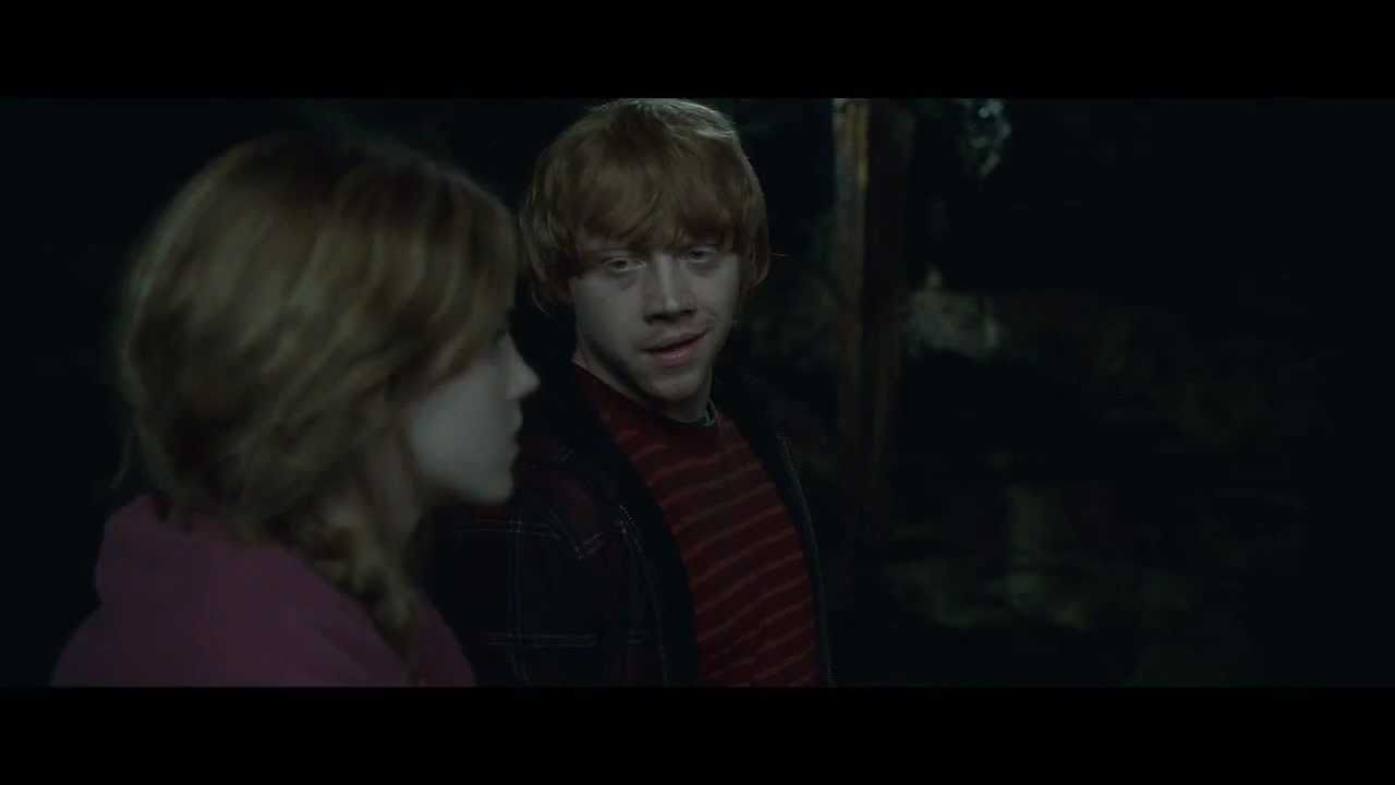 Rupert Grint : Ron and Hermione in the Chamber of Secrets ...
