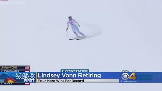 Lindsey Vonn Announces Retirement