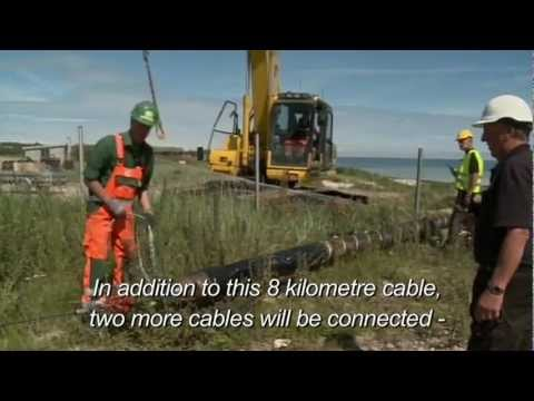 Anholt offshore Wind Farm in Denmark
