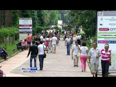 Население Сочи стало больше 500 тысяч человек