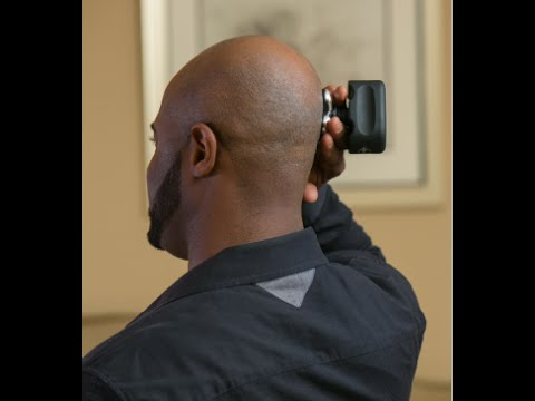 Electric razor for bald heads