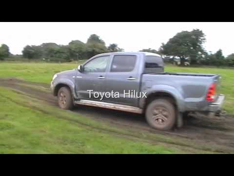 The thrill of six: pick-up trucks in off-road action