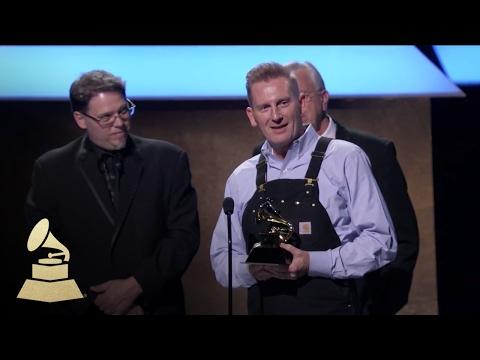Joey + Rory Wins Best Roots Gospel Album   Acceptance Speech   59th GRAMMYs