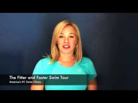 Thank You Youtube! Learn from me IN PERSON with The Fitter and Faster Swim Tour