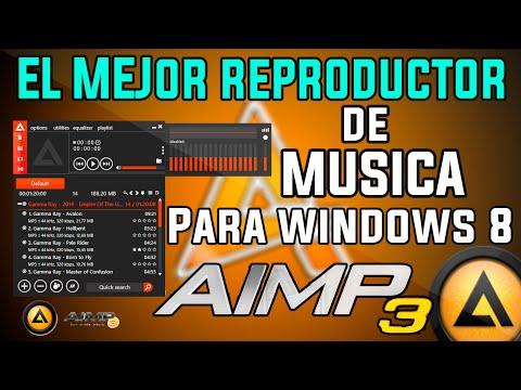 AIMP3 | El Mejor Reproductor de Musica para windows XP,Vista,7,8,8.1 y Windows 10 Final en español