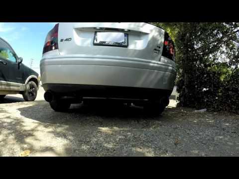 2006 S40 T5 AWD muffler delete