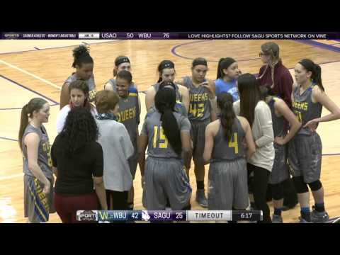 Wayland Baptist vs SAGU (Second Half) » Women