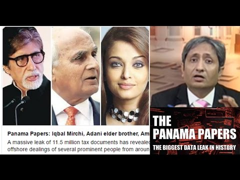NDTV Ravish Kumar Prime time Intro on Panama papers Massive leak of tax documents Exposes.