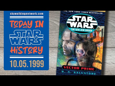 TODAY IN STAR WARS HISTORY: 10/5/1999 - Vector Prime by R.A. Salvatore is published by Del Rey