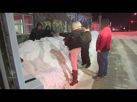 Convincing Winnipeg's Homeless To Warm Up In New Mobile Shelter No Simple Task