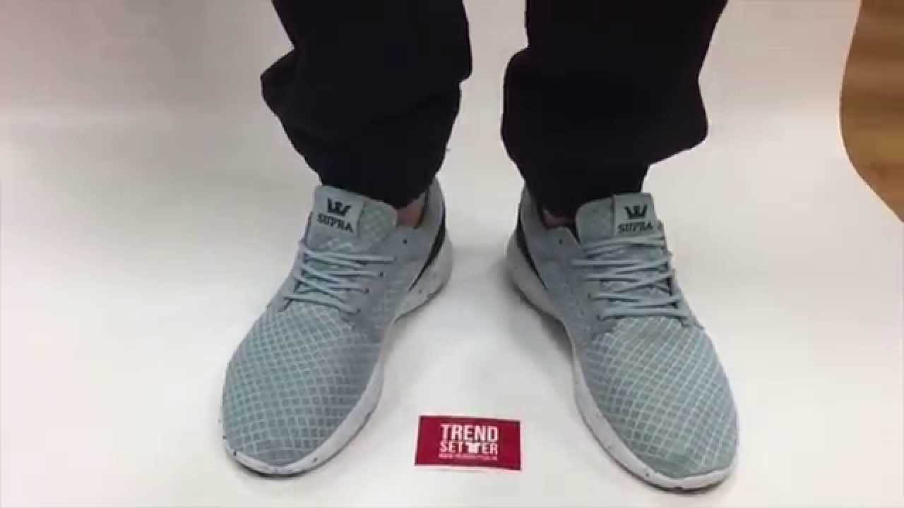 SUPRA HAMMER RUN POWDER BLUE - WHITE - YouTube 44204a6d34