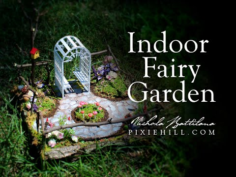 Indoor Fairy Garden Tutorial Youtube
