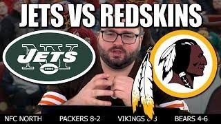 Jets vs Redskins Reaction - Washington Redskins NY Jets Recap New York Jets