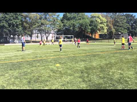 Youth Soccer Coaching - Positioning and Passing