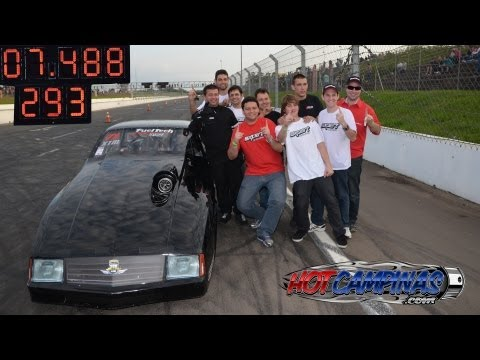 Chevette Turbo 310km/h em 7.8s + Recorde XTM 7.488@293km/h