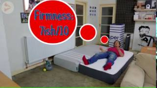 leesa or casper mattress comparison and review 2017
