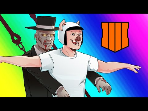 Black Ops 4 Zombies - Voyage of Despair Easter Egg Attempt! (Funny Moments and Bing Boys)