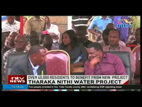 Tharaka Nithi county rolls out water project targeting over 40,000 residents